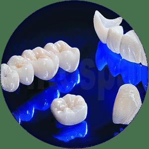 Протезирование зубов в Воронеже. Оксид циркония коронка