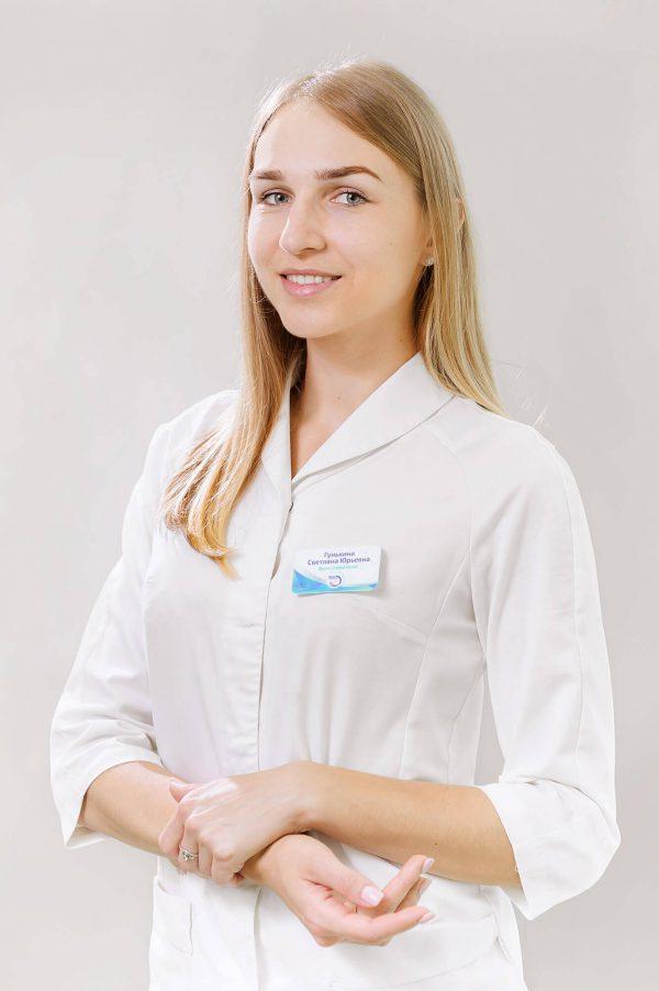 Стоматолог в Воронеже. Лечение зубов. Гунькина Светлана Юрьевна