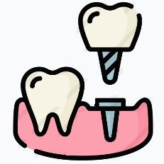 протезирование зубов Коронки на имплант поставить коронку на импланте